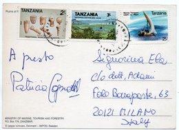 TANZANIA - RUINS OF PALACE MARUHUBI ZANZIBAR / THEMATIC STAMPS - Tanzania