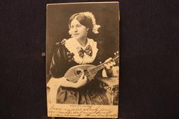 M-226 / Russie? Marietta Colombo  Musicienne 1898  / Circulé Ver Bruxelles  1907 - Russie