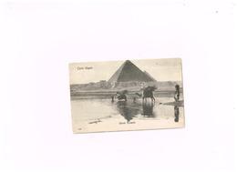 Ghizeh Pyramids.Expédié De Cairo à Eaubonne (Val D'Oise/France) - Pyramids