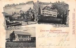 GRUSS Aus SIEGHARDSTEIN NEUMARKT SALZBURG AUSTRIA~TOTALSICHT-SCHLOSS-SCHULHAUS~1902 FRANZ STECHER PHOTO POSTCARD 43062 - Österreich