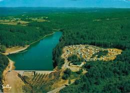Soursac Camping Municipal Et Plan D'eau 1977 CPM Ou CPSM - Other Municipalities