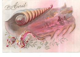 CPA COLORISEE FETE - 1er AVRIL - VIP - - 1° Aprile (pesce Di Aprile)