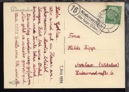 OSt. Haiger 2.8.56 + R2 16 Niederrossbach über Haiger (Dillkreis) Auf CAK - Germany