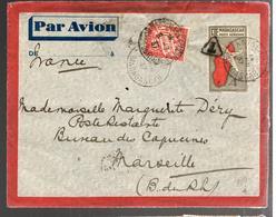 26786 - D'ANTALAHA Pour La France Et Taxée - Madagascar (1889-1960)