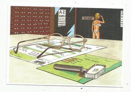 Cp,86 ,MONTMORILLON ,1 Er Salon De L'image Et De L'écrit ,2001,  OPTIQUE DU MARCHE, Tirage 700 Ex - Montmorillon