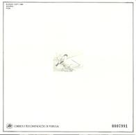 Azores, Acores 1986 Europa: Natur Conservation, Bird, Azores Bullfinch, Mi  376, MNH(**) Blackprint - Açores