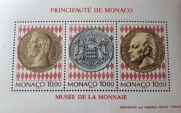 MONACO BLOC FEUILLET BF YT 66 MUSEE DE LA MONNAIE 1994 NEUF SANS CHARNIERE**TTB - Monaco
