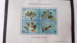 MONACO BLOC FEUILLET BF YT 68 QUATRE SAISONS DU JUJUBIER 1995 NEUF SANS CHARNIERE**TTB - Monaco