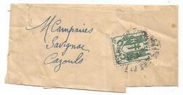 CHAINE 30C SEUL PETITE BANDE  MONTPELLIER Faible 1946 AU TARIF RARE - 1941-66 Wappen