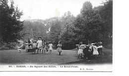 62 ARRAS Cpa Au Square Des Allées Le Rond Point - Arras