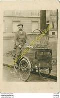 Photo-CPA . Triporteur MAISON WANNER DIJON .BOULANGERIE VIENNOISE Expo 1867 Rue Chaussée D'ANTIN - Andere