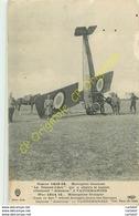 """Monoplan SAULNIER"""" Le Jeanne D'Arc """" Qui A Abattu L'allemand ALBATROS à VAUDEMANGES . GUERRE 1914-15 - Guerra 1914-18"""