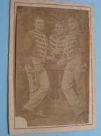 SOLDAAT ( Vanderbeken Alois / Leonie De Wulf ) SOLDIER SOLDAT ( Photo ? ) Anno 1885 ( Format CP/PK ) ! - Oorlog, Militair