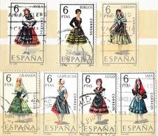Lot 14 Timbres: Espagne Collection Provinces - España, Provincias - Correos 6 - 5 PTAS (pesetas) - Colecciones