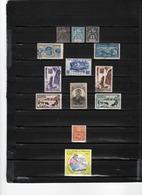 13 TIMBRES ST PIERRE & MIQUELON OBLITERES & NEUFS** & * DE 1892 à 1994    Cote : 24,80 € - Oblitérés