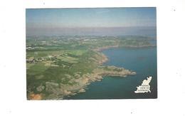 AERIAL VIEW OF GUERNSEY  ***** RARE  A   SAISIR  ***** - Guernsey
