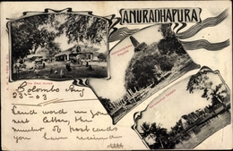 Cp Anuradhapura Sri Lanka, The Rest House, Jatawanarama Dagoba, Isurumuniya Temple - Sri Lanka (Ceylon)