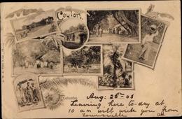 Cp Colombo Sri Lanka, Kinder, Tempel, Palmen, Kutschen - Sri Lanka (Ceylon)