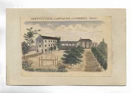 91 - Institution Castagne à CORBEIL ( S.& 0. ) - Corbeil Essonnes