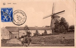 CPA - N - BELGIQUE - HAINAULT - LEVAL - MOULIN - België