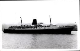 Photo Cp Steamer Wahine, Fährschiff, Union Line - Schiffe