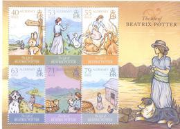 2013. Alderney, The Life Of Beatrix Potter, S/s, Mint/** - Alderney