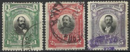 Peru 1901. Mi 119-21 Used O - Peru