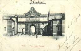 ROMA  PORTA DEL POPOLO  RV Beau Timbre Cachet - Andere Monumente & Gebäude