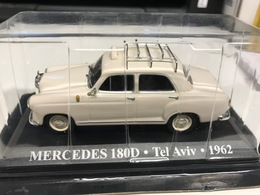 MERCEDES 180 D TAXI TEL AVIV 1962 - 1/43 - COMME NEUVE SOUS BLISTER - Unclassified