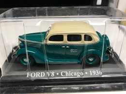 FORD V8 TAXI CHICAGO 1936 - 1/43 - COMME NEUVE SOUS BLISTER - Unclassified