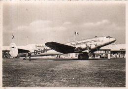 """Dept 68,Haut Rhin,Cpsm Aérodrome Bale-Mulhouse à Blotzeim,""""Languedoc 161"""",33 Passagers - Otros Municipios"""