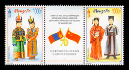 Mongolia (2019) - Set -  / Dances - China Relationship - Dress - Costumes - Costumi