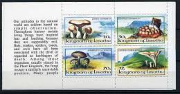 Lesotho ** Carnet Comprenant 2 Séries N° 533 à 536 + 533/534 - Champignons (lot 3 Bis) (12 P53) - Lesotho (1966-...)