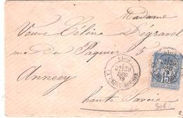 Rhone :- LYON LA CROIX ROUSSE Dateur Type 18 - 1877-1920: Semi-Moderne