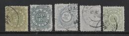BRAZIL 1884 / 1888 SMALL LOT USED - Brésil