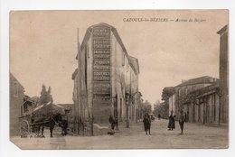 - CPA CAZOULS-LES-BÉZIERS (34) - Avenue De Béziers (avec Personnages) - Edition P. Imbert - - Francia
