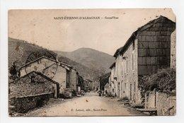 - CPA SAINT-ÉTIENNE-D'ALBAGNAN (34) - Grand'Rue 1913 - Edition E. Letuvé - - Francia