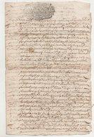 Savoie Montvalezan Sur Bellentre 1751 - Manuscripts