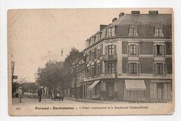 - CPA PARAMÉ - ROCHEBONNE (35) - L'Hôtel Continental Et Le Boulevard Chateaubriand - Cliché Du Photo-Club 102 - - Parame