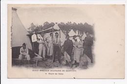 CP 78 Ecole Speciale Militaire De SAINT CYR Repos Au Camp - Manovre
