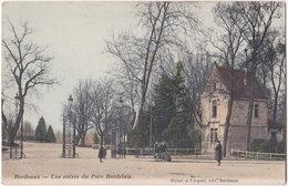 33. BORDEAUX. Une Entrée Du Parc Bordelais - Bordeaux