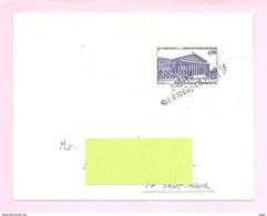 FRANCE  N° 1688, Sur Lettre - Oblitération Par Griffe ST MAUR - DES - FOSSES - 94-068. TB. - Poststempel (Briefe)