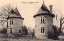 B63378 Cpa Pompadour - Entrée Des Haras - Sin Clasificación
