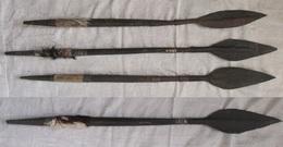 Art Africain Quare Petite Ancienne Lance Massai Longueur Entre 68-78 Cm - Arte Africano