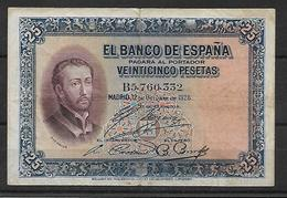 ESPAÑA, 1928 - [ 1] …-1931 : Eerste Biljeten (Banco De España)