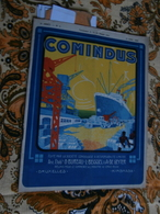 Comindus 4 (15/04/1926) : Congo Belge, Matadi, Boma, Magena, R Allier, E Sengier - 1900 - 1949