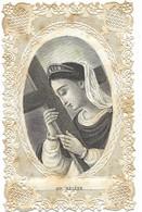 Souvenir Communion Marie Legier 14 Février 1889 Ste Hélène TBE - Devotieprenten