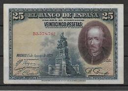 ESPAÑA, 1926 - 1-2-5-25 Pesetas