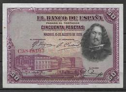 ESPAÑA, 1928 - 50 Pesetas
