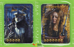 Voyo  LOTR - LAY'S - Two Cards  NEW Esterling Eowina Poland - Lord Of The Rings
